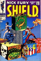 Nick Fury, Agent of S.H.I.E.L.D. (1968) -1- Who Is Scorpio?