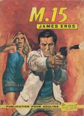 M. 15 James Eros -9- La piste du traître