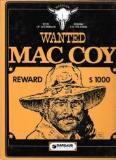 Mac Coy -5a81- Wanted Mac Coy