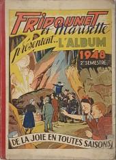 (Recueil) Fripounet et Marisette -482- Album 1948 2e semestre (recueil des n°27 à 52)