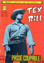 Tex Bill -SP03- Spécial 12/67 : Passé coupable