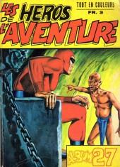 Les héros de l'aventure (Classiques de l'aventure, Puis) -Rec27- Album N°27 (39, 45, 44)