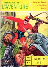 Les héros de l'aventure (Classiques de l'aventure, Puis) -Rec03- Album N°3 (du n°7 au n°9)