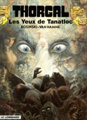 Thorgal -11b01- Les yeux de Tanatloc