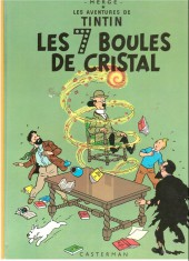Tintin (Historique) -13B40- Les 7 boules de cristal