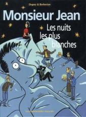 Monsieur Jean -2a- Les nuits les plus blanches