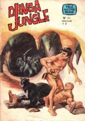 Télé série bleue (Les hommes volants, Destination Danger, etc.) -35- Djingla Jungle : L'idole aux trois yeux