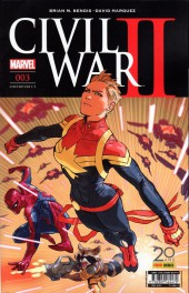 Civil War II -31/2- Tome 3