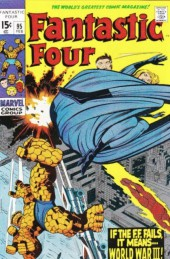 Fantastic Four (1961) -95- Tomorrow -- world war three!