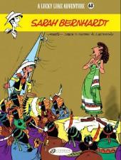 Lucky Luke (en anglais) -4963- Sarah bernhardt