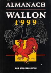 (AUT) Walthéry -34- Almanach Wallon 1999