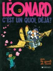Léonard -3b1984- Léonard, c'est un quoi, déjà ?