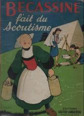 Bécassine -17c1951- Bécassine fait du scoutisme