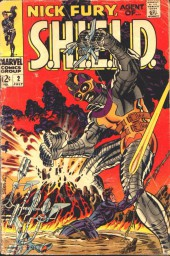 Nick Fury, Agent of S.H.I.E.L.D. (1968) -2-