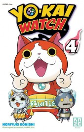 Yo-Kai watch -4- Tome 4