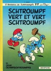 Les schtroumpfs -9d1990- Schtroumpf vert et vert schtroumpf