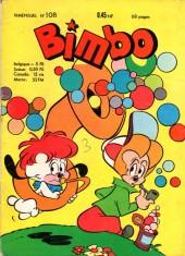 Bimbo (2e série) -108- Numéro 108
