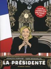 La présidente (Durpaire/Boudjellal) -1a- La Présidente
