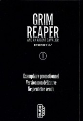 The Grim Reaper and an argent cavalier -1sp- Tome 1