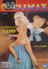 BD Climax  -21- Les Confidences de Nado