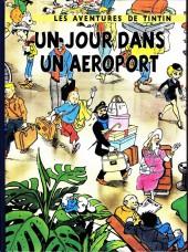 Tintin - Pastiches, parodies & pirates -38a17- Un jour dans un aéroport