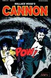 Wallace Wood's Cannon (1991) -5- Stateside sleaze
