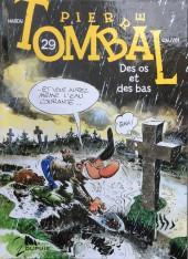 Pierre Tombal -29a2016- Des os et des bas