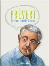 Poèmes en bandes dessinées -b17- Prévert - Les Poèmes en bandes dessinées