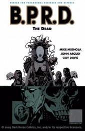 B.P.R.D. (2003) -INT04- The Dead