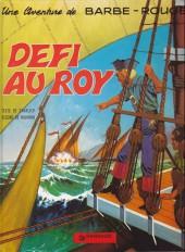 Barbe-Rouge -4a78- Défi au Roy