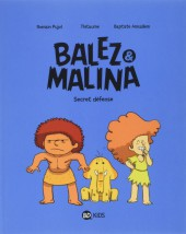 Couverture de Balez & Malina -2- Secret défense