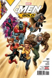 X-Men: Gold (2017) -1- Back to the Basics Part 1