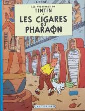 Tintin (Historique) -4C3bis- Les cigares du pharaon