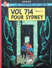 Tintin (Historique) -22C3- Vol 714 pour Sydney