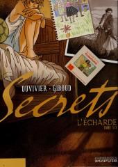 Secrets - L'écharde -1a- Tome 1
