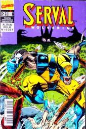 Serval-Wolverine -Rec11- Album relié N°11 (du n°31 au n°33)