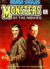 Relatos salvages (Vol.1) -26- Monsters of the Movies: Peter Cushing Titán del Terror Trágico