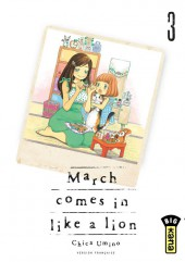 March comes in like a lion -3- Tome 3