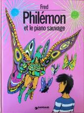 Philémon -2a81- Philémon et le piano sauvage