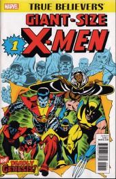 True Believers: Giant-Size X-Men (2017) -1- Second genesis!
