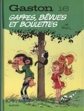 Gaston (2017) (60°anniversaire) -16- Gaffes,bévues et boulettes