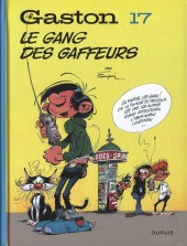 Gaston (2017) (60°anniversaire) -17- Le gang des gaffeurs