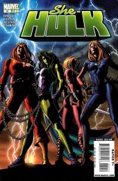 She-Hulk (2005) -34- Lady Liberators Part 1