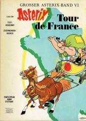 Astérix (en allemand) -5a- Tour de France