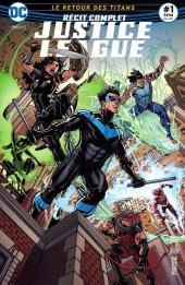 Justice League - Récit Complet (DC Presse) -1- Le Retour des Titans