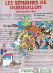 Les semaines de DuBouillon -1- Rétrospective 1994