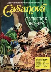 Casanova (Les Aventures amoureuses et érotiques de) -1- Le séducteur bien aimé