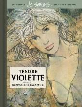 Tendre Violette (N&B) -INT01- Volume 1