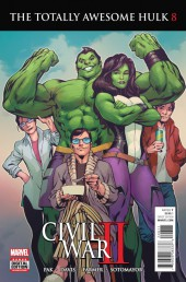 Totally Awesome Hulk (The) (2016) -8- Civil War II