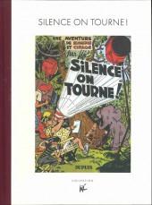 Blondin et Cirage -8TL- Silence on tourne !